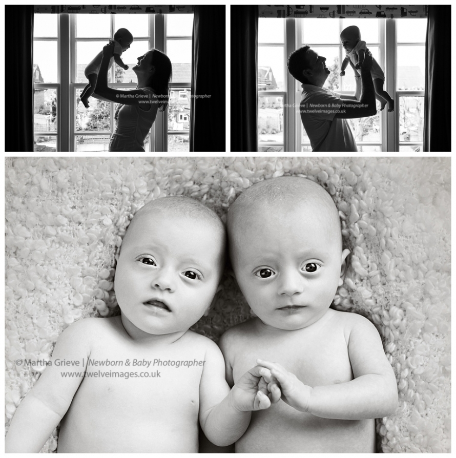 baby photographer wandsworth twins