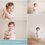 1 year old baby photo session