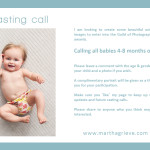 Casting Call – babies 4-8 months old – London